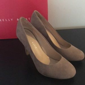 Kelly and Katie Suede Pumps worn once